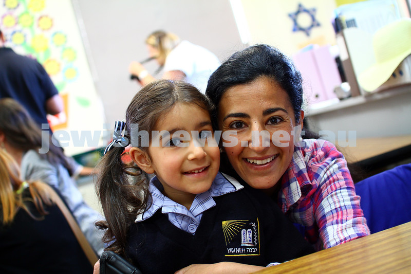 29-1-15. First day of school 2015. Leibler Yavneh College. Photo: Peter Haskin