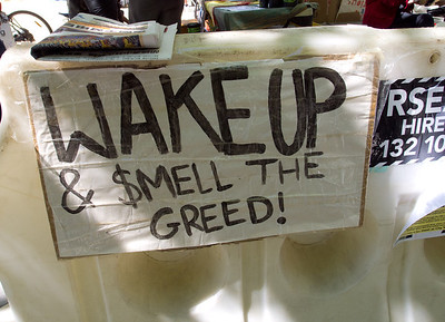 Smell the greed