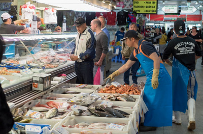 Fish seller, Footscray