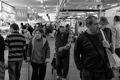People at Footscray market