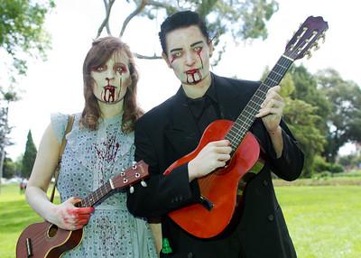 Serenading zombies
