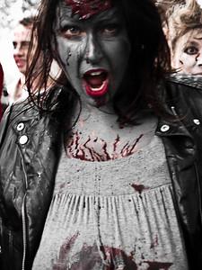 Zombie heading this way.