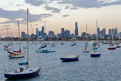 View from St Kilda Jetty
