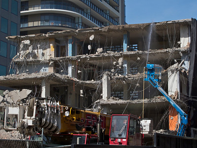 Demolition: Rhapsody being built on St Kilda