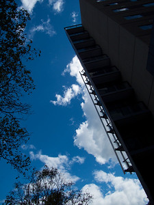 Blue Sky in Autumn (March 2010)