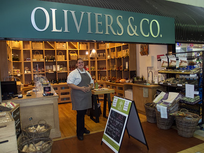 Oliviers and Co at Prahran market is closing down and will reopen with a different product range. March, 2012.