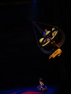 Circus Oz at Birrarung Marr, Melbourne. June, 2012.