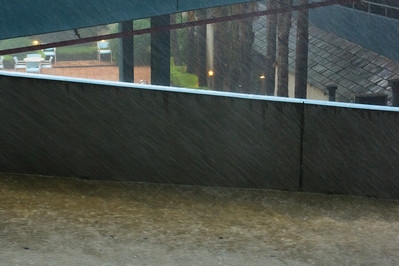 Rain and flash floods in Melbourne. 5 Feb 2011.