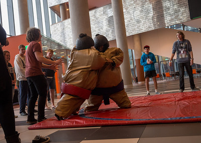 Apparently there is Sumo wrestling in Melbourne.