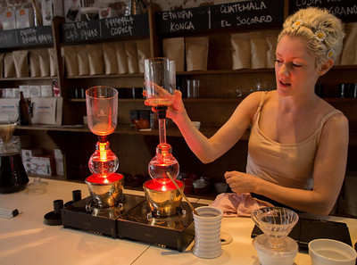 The Alchemy of Syphon Coffee at Auction Rooms. Jan, 2013.