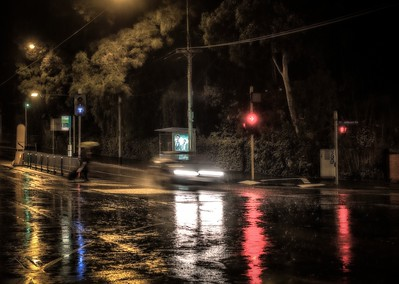 Record rains in Melbourne. 31 May 2013.