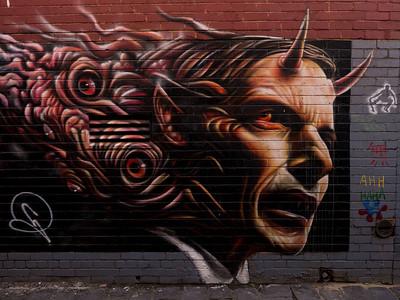 One of Abbott's achievements as Australia's ex-PM: he inspired a little bit of art.