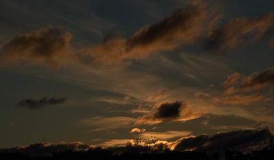 Sunset at Macedon