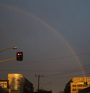 Rainbow on the right