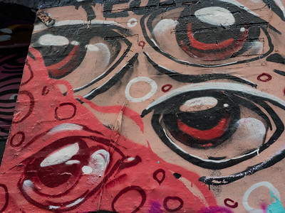 Eyes on Hosier Lane