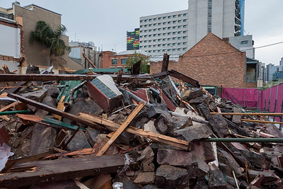 Cookman Inn (Carlton Inn) illegally demolished