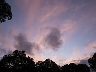 Sky over Carlton