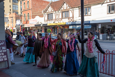 Dancers at Prahran Market