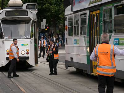 Trying to restore tram service
