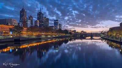Pre-dawn Melbourne