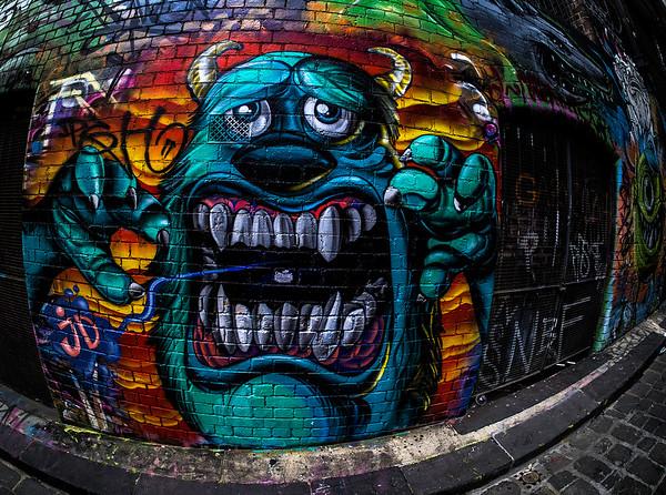 Creature, Hosier Lane Melbourne