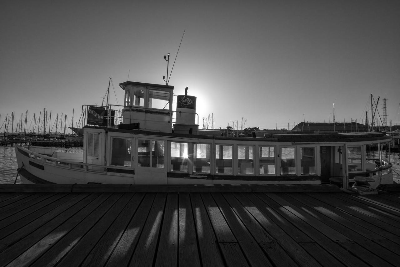 Williamstown Ferry At Dawn