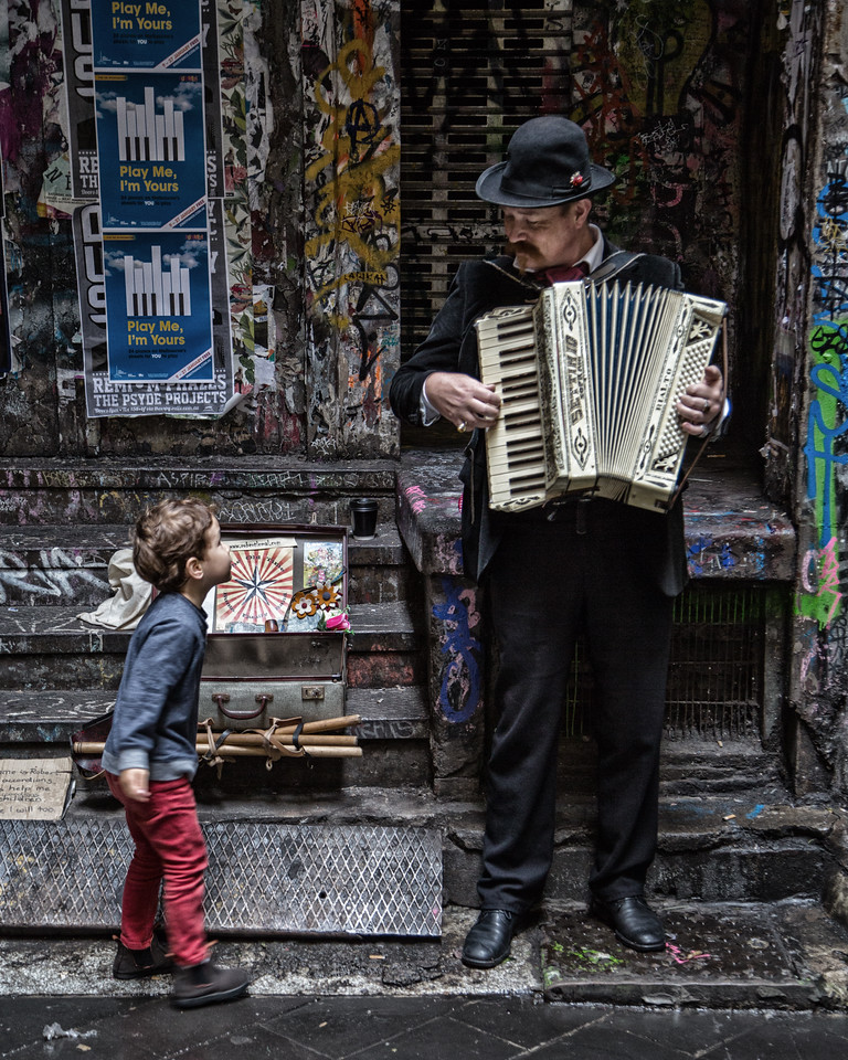 The Boy and the Busker