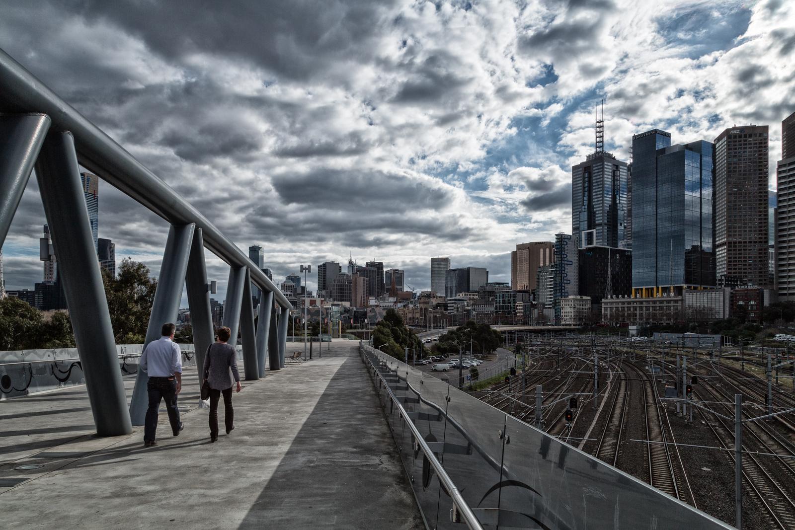 Jolimont Railway Yards, Melbourne