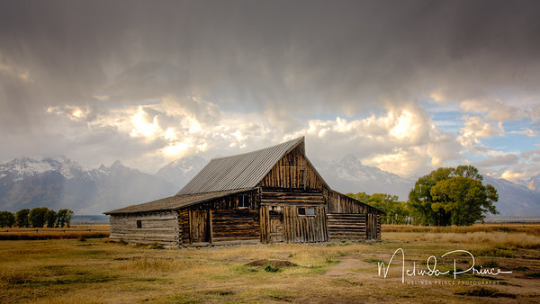 Storm Rolling in over Morman Row, Grand Tetons, Wyoming