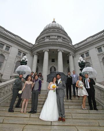 Melissa & Steve Wedding Day