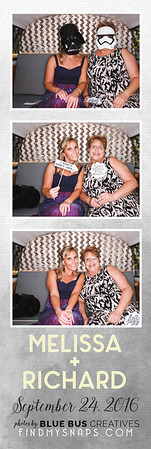 Snapping photos and celebrating the newlyweds. Congrats Melissa and Richard!  Love this photo? Head to findmysnaps.com/Melissa-richard to order large prints and more!  Thinking of booking an awesome photo booth for your next event? Head to bluebuscreatives.com for more info.