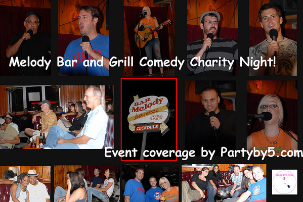 Matt Burch & Froy Tercero host Paparazzi Comedy Launch Party now Thursdays 8pm Melody Bar & Grill