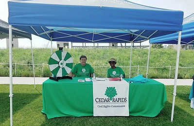 Cedar Rapids Civil Rights Commission at AsianFest