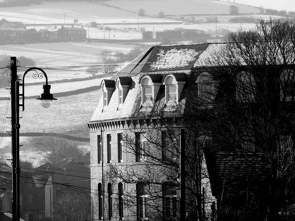 Winters day in Mirfield