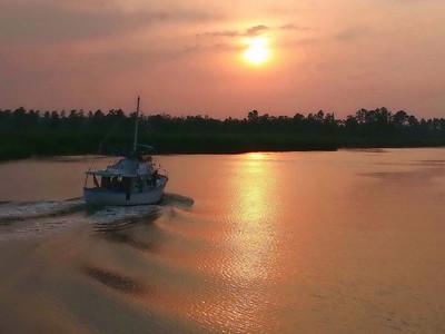 David Keener - Cape Fear River Sunset