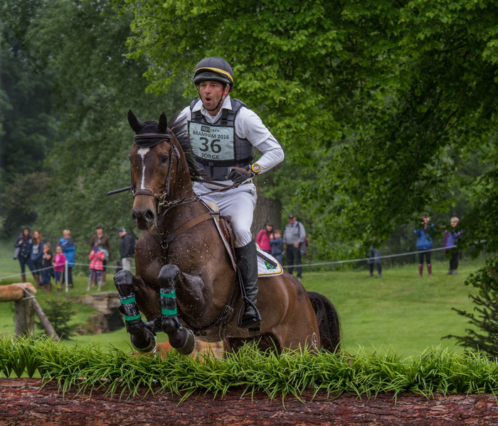 Taking the Jump at Bramham Park 2016