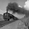 U P  800 class with freight in Lane Cutoff-1956