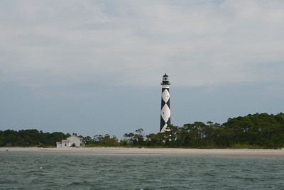 Jean Peterson - Cape Lookout from Boat