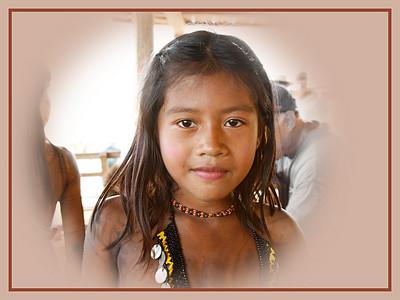 Jerry Koons - Embera Indian Girl