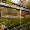 Swann Covered Bridge during Drought
