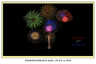 July 4 Poster 20x30
