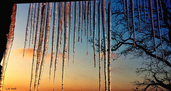 icicles on deck - Hardin County signed 2