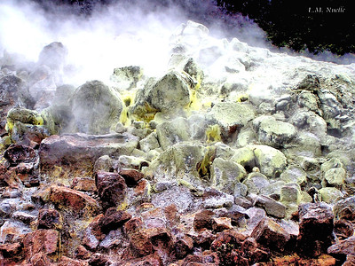 Sulfur and steam