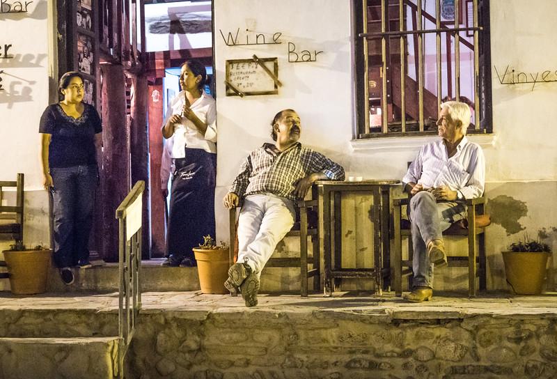 Dos Amigos en Cachi, Argentina