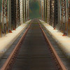 The Next Journey - Railroad Trestle - Acme, Oregon