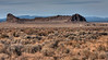 Fort Rock, a very unusual volcanic formation in the High Desert of Oregon, has a very small community at it's base. Captured here in an HDR shot by Gary Miller