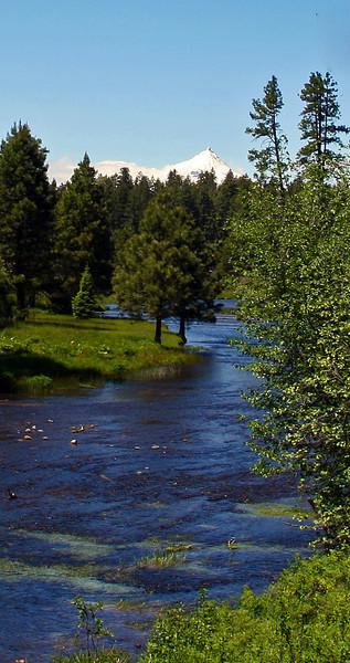 Metolius River & Mt. Jefferson-Jack Walker