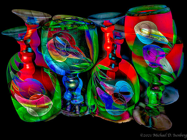 GLASS ABSTRACT -16