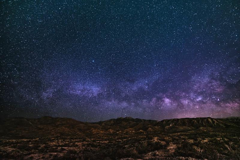 Milky Way over Four Peaks