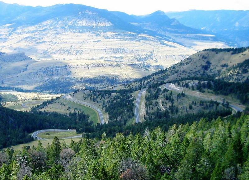 State Highway 296, Chief Joseph Scenic Highway, Wyoming. - Jim Cunningham